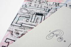 Laand on Behance #stamp #branding #landscape #marque #identity #architecture #passport #logo
