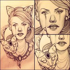 Lady Ink #ink #giuliafederica #cat #tattoo #juliet #misss #lady
