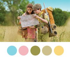 Wes Anderson #color
