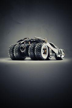 Cars we love on Behance #dc #vehicle #batman #pod #tumbler #bat #photography #film
