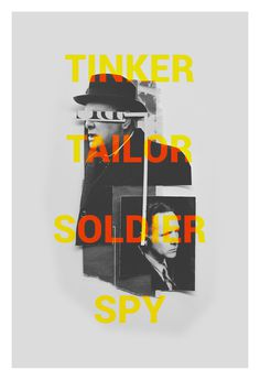 'Tinker Tailor Soldier Spy' Custom film poster on Behance