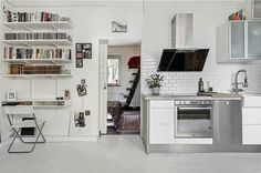 Dreaming of down sizing emmas designblogg #interior #design #decor #kitchen #deco #decoration
