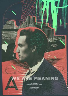 WE ARE MEANING #artwork #abstract #experimental #poster