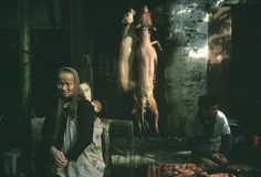 Inspiration | Jordan Lloyd #photography #china #market #dog