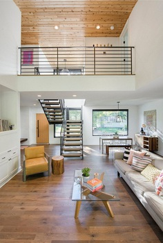 Abramson Residence in Minneapolis, Strand Design 3