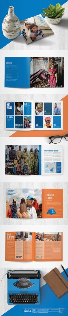 Design by Shanti Sparrow www.shantisparrow.com Client: UNHCR Project Name: Annual Report  #Design #graphicdesign #illustration #layout #maga