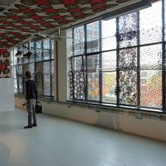 DDW13: A Visit to Vlisco Textiles Photo #pattern #fabric #window