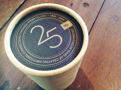 25th Anniversary Monogram