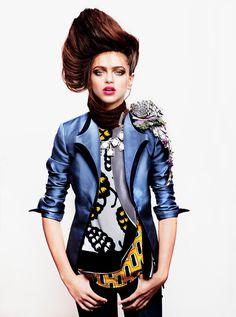 Zhenya Katava for Youth Vision #fashion #model #photography #girl