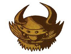 Viking head by Alex Felter