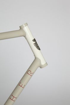 pinned image #cream #frame #white #bicycle