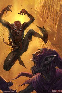 Amazing Spider Man Zombie by Kai S on deviantART
