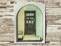Steady Print Shop Co. #print #death #poster