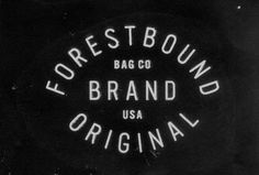 163_121030_021430_forestbound bag co #bound #brand #vintage #logo #forest #dirty