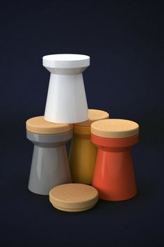 TOWER STOOL - Everardo Galván #stool