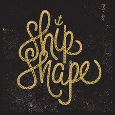 Eight Hour Day » Blog » Nick Agin #typography #type #anchor #rope