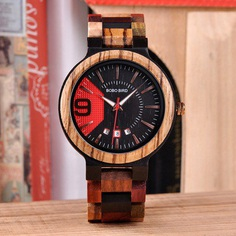 Bobo Bird WQ13-1 - Luxury full wooden watch for mens with casual design