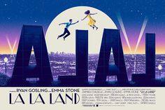 La La Land by Patrick Connan - Home of the Alternative Movie Poster -AMP-