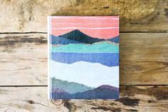 Design Work Life » cataloging inspiration daily #watercolour #landscape
