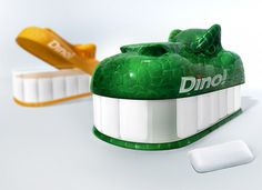 Dino! Gum #packaging #design #gum #dino #dinosaur #package