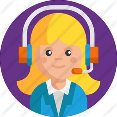 See more icon inspiration related to shipping and delivery, business and finance, professions and jobs, call center, customer service, telemarketer, support, communications, user, operator, information, microphone, call and phone on Flaticon.