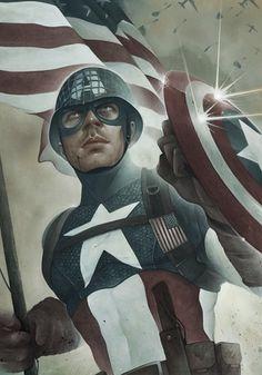 Chris B. Murray - Philadelphia, Pennsylvania - Captain America Study #america #illustration #captain
