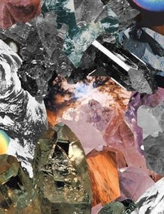 Chris Seddon Illustration Design #crystals #rocks #design #minerals