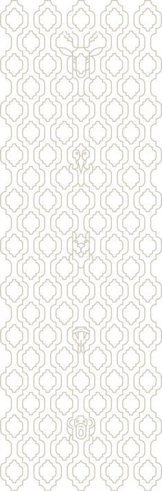 Moroccan Wallpaper by Mark Wilson #moroccan #wallpaper #pattern #antelope #snake #monkey #hidden #illusion #repeating #trellis #biomorphic #