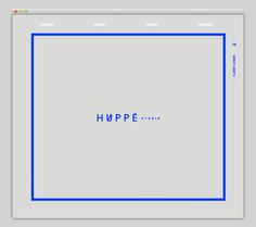 Huppe Studio #website #layout #design #web