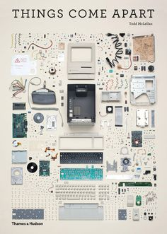 Things Come Apart, 50 Disassembled Objects in 21,959 Individual Parts by Todd McLellan #photography