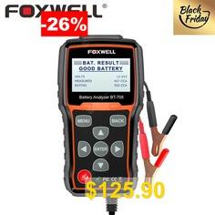 FOXWELL #BT705 #100-2000CCA #Battery #Analyzer #Tester #for #Cars #Duty #Trucks #12V-24V