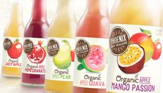 Phoenix Organic Beverage — The Dieline #organic