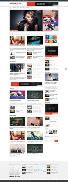 AccessPress Mag : Free Responsive Magazine WordPress Theme