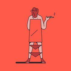 Thomas Hedger Instagram #illustration