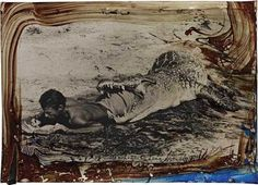Travel Collages by Peter Beard