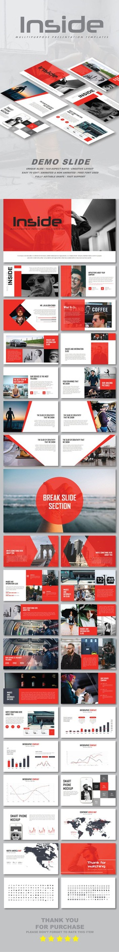 Inside Multipurpose Google Slide Templates - Google Slides Presentation Templates