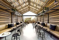 Mellow and Mature Ambiance Located in Old Classic Town of Elwood - #restaurant, #restaurantdesign, #interior,  #decor, #architecture,