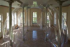 CJWHO ™ (The sculpture 'Alias' by Miriam Jonas The...) #sculpture #installation #bubble #air #design #interiors #architecture #art #clever