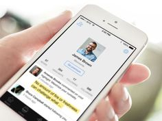 Fastr Books User Profile Redesign by Alexander Bickov #user #profile #ux #ui #iphone #app #mobile