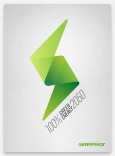 Greenpeace on the Behance Network #peace #energy #green
