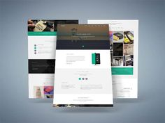 Bouncy – Free Single Page Digital Agency Template
