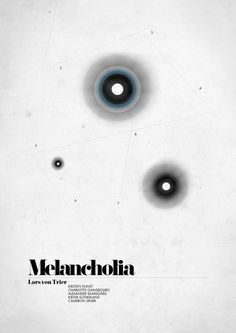 MELANCHOLIA - Swedish Fan Poster by Michaela Larsson #movie #poster #melancholia