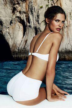 "Bianca Balti by Mario Testino for Dolce & Gabbana's ""Light Blue"" Fragrance Campaign"