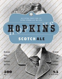 Boquébière Hopkins #beer #bottle #label #packaging