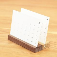 calendar with wooden base - Google Search #calendar