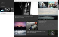 Skimmer - Profiles on the Behance Network #website