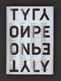 TypeOnly_Cover_Portrait #typography