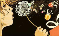 Pursuit Of Happiness | Christina Ung #prints #pop #design #graphic #black #illustration #art
