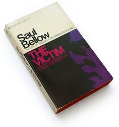 The Victim, 1965 : Book Worship #book #minimal #typography