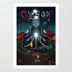 Iznabar nº1 Art Print
